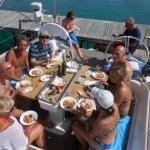 Lunchtime in Piscera, Kornati Eilanden, Kroatië