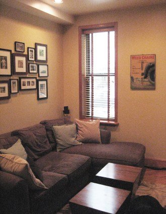 123 Willow Ave 1 - living room