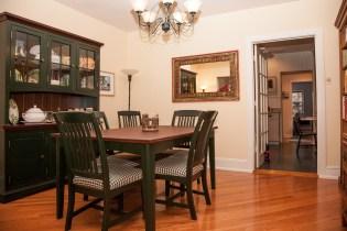 828 Hudson St 1 - dining room