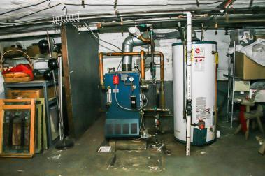 1021 Garden Street basement