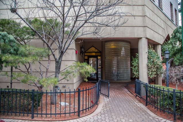 1001 Clinton St #2B - entrance