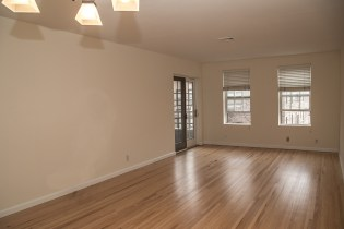 1001 Clinton St #2B - living room