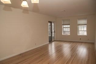 1001 Clinton St #2B - living room