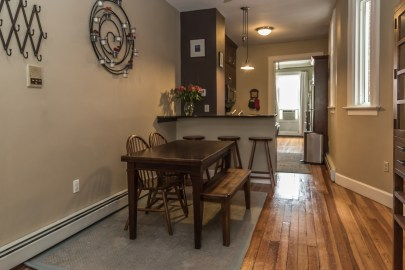 1007 Willow Ave #9 - dining room
