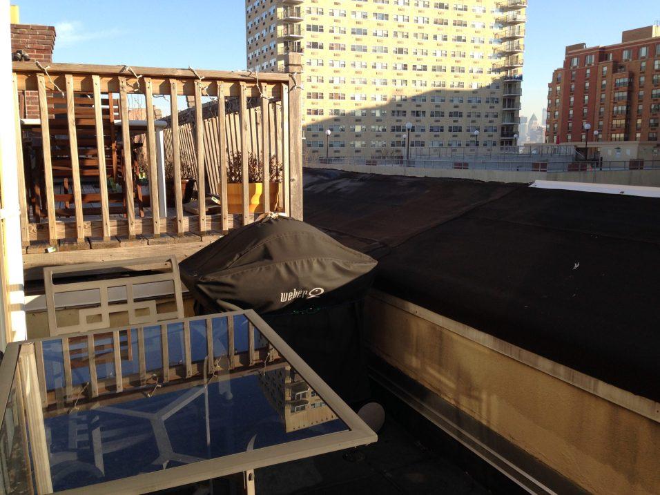 300 Hudson St #15 - terrace