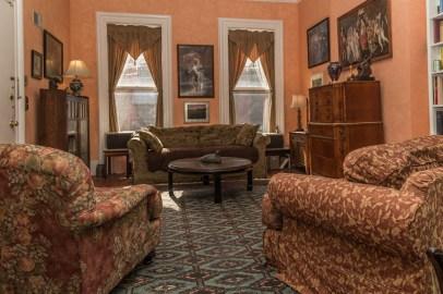 736 Garden St #2 - Living Room