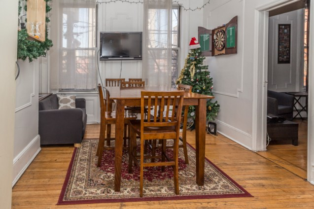 126 Madison St #2 - dining room