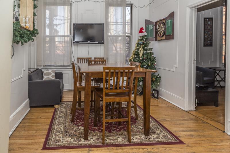 126 Madison St #2 - dining room
