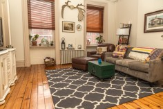 828 Washinghton St Apt 3 - living room
