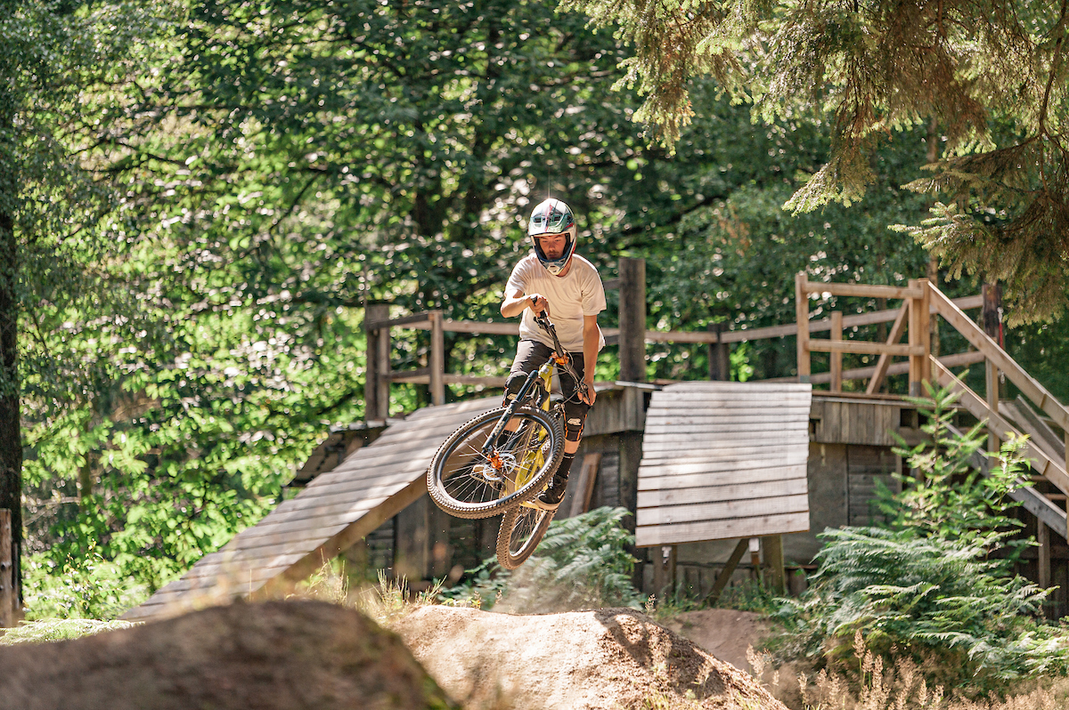 Theo Rommeluere - Ligne Dirt - Singletracks Bike Park
