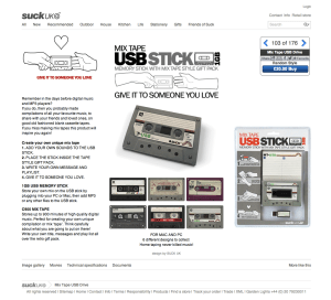 Mix Tape USB Drive Give the gift of great music