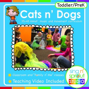 Cats n' Dogs Curriculum – Single Lesson