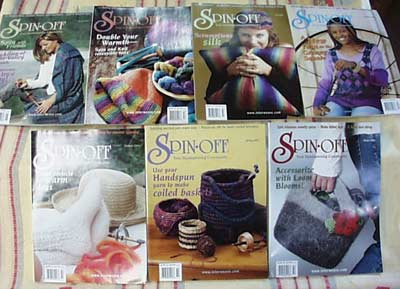 Back Issues of Spin-Off Magazine