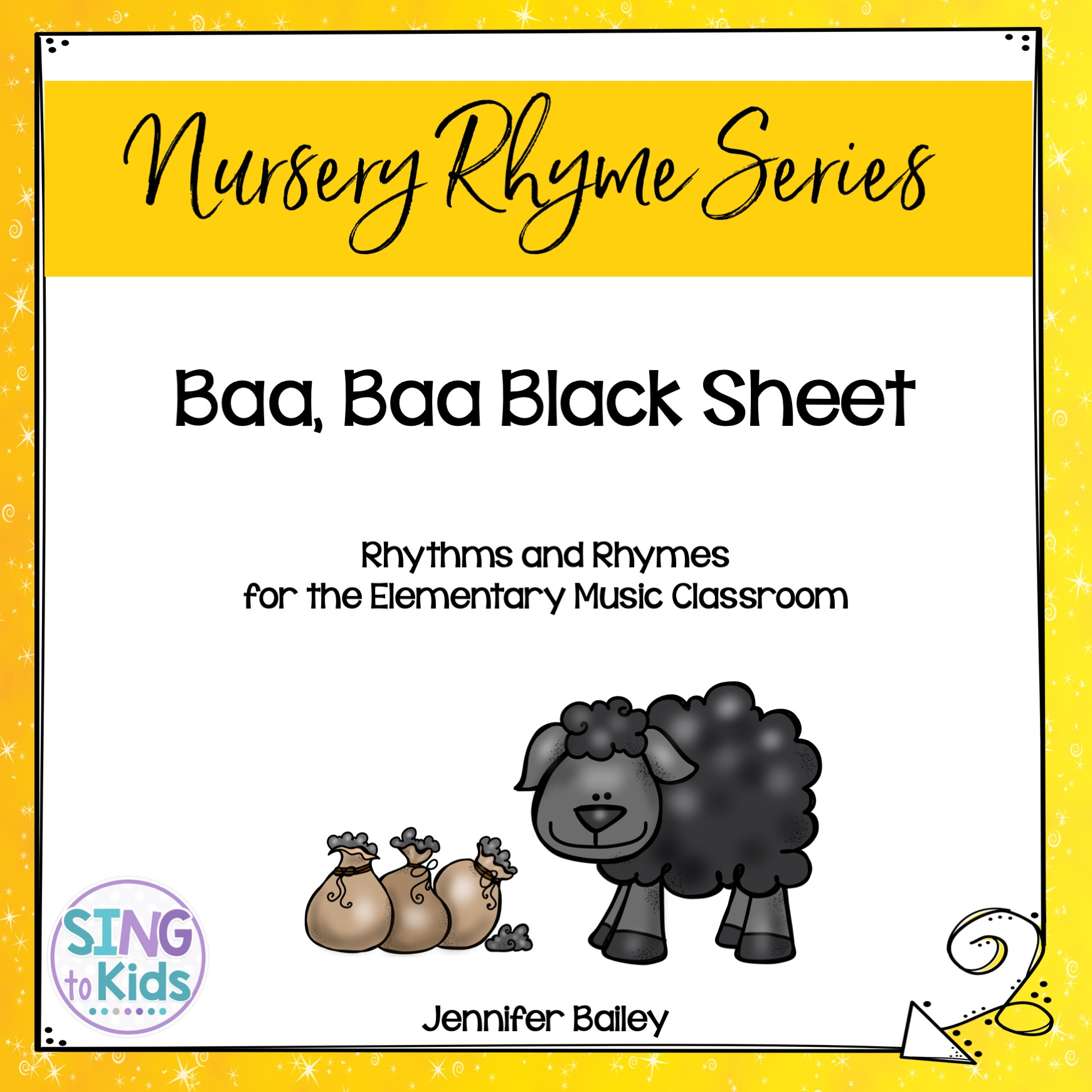 Baa Baa Black Sheep Rhythms Amp Rhymes For Elementary