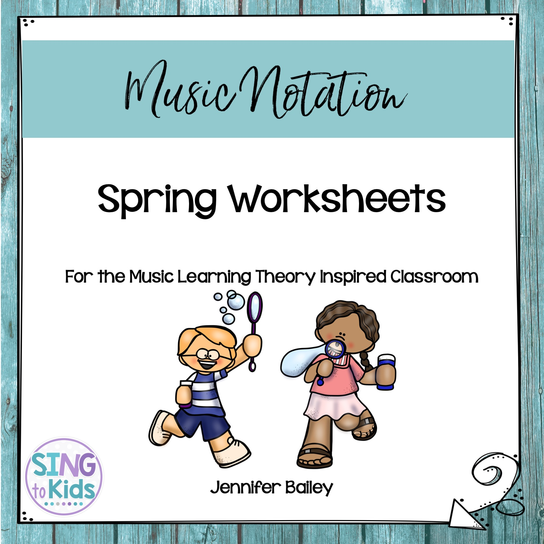 Spring Worksheets For The Music Learning Theory Inspired