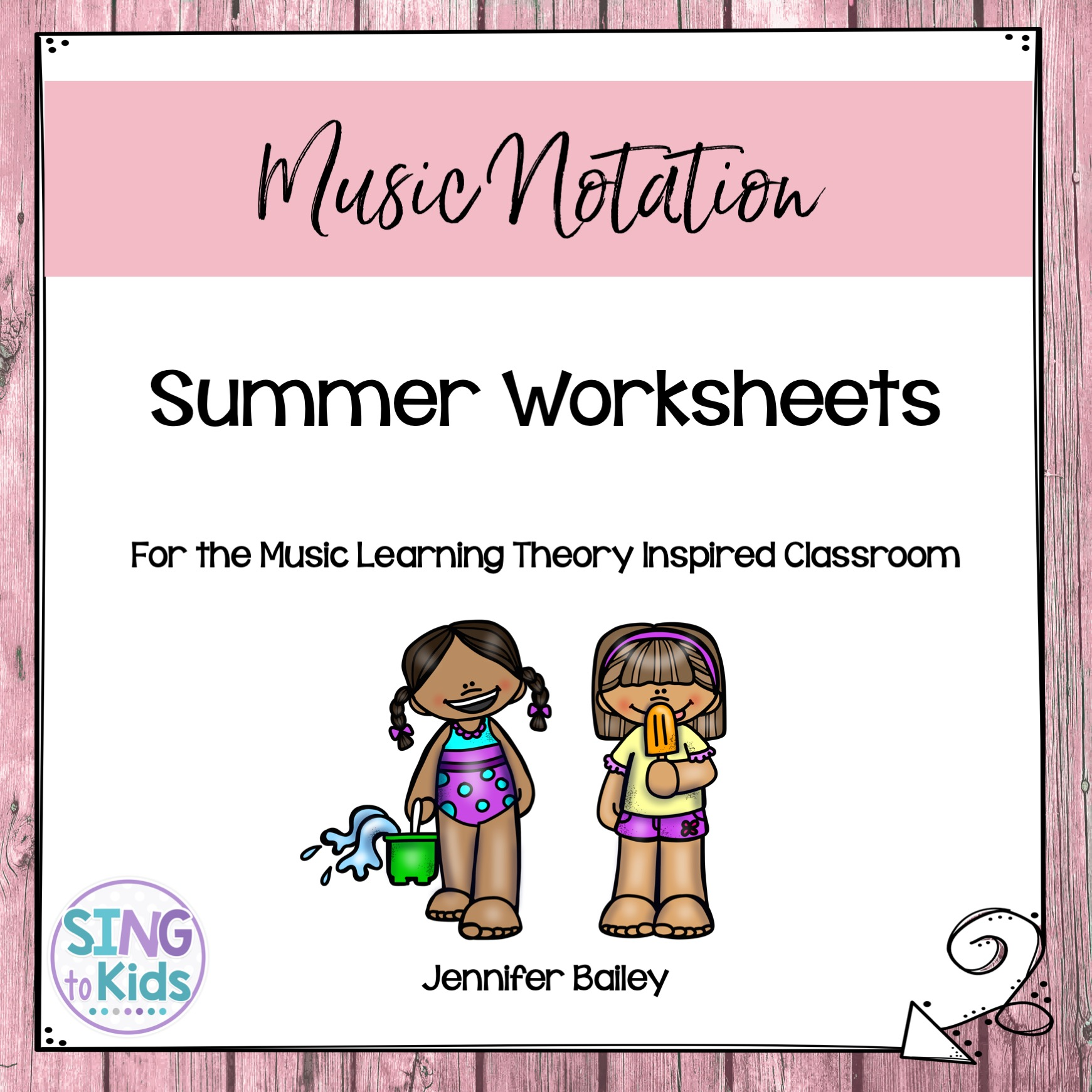 Summer Worksheets For The Music Learning Theory Inspired
