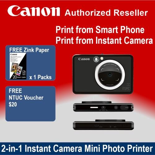 Canon Inspic ZV-123 Matte Black