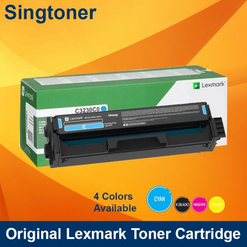 Lexmark C3230C0 Cyan Print Cartridge for MC3326 1.5K