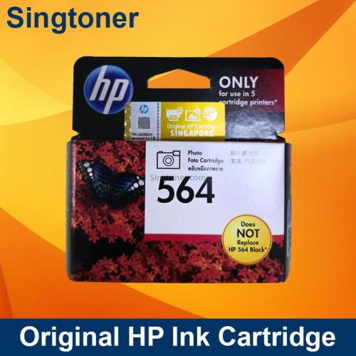 HP 564 Photo Black Ink Cartridge, 1500 Pages