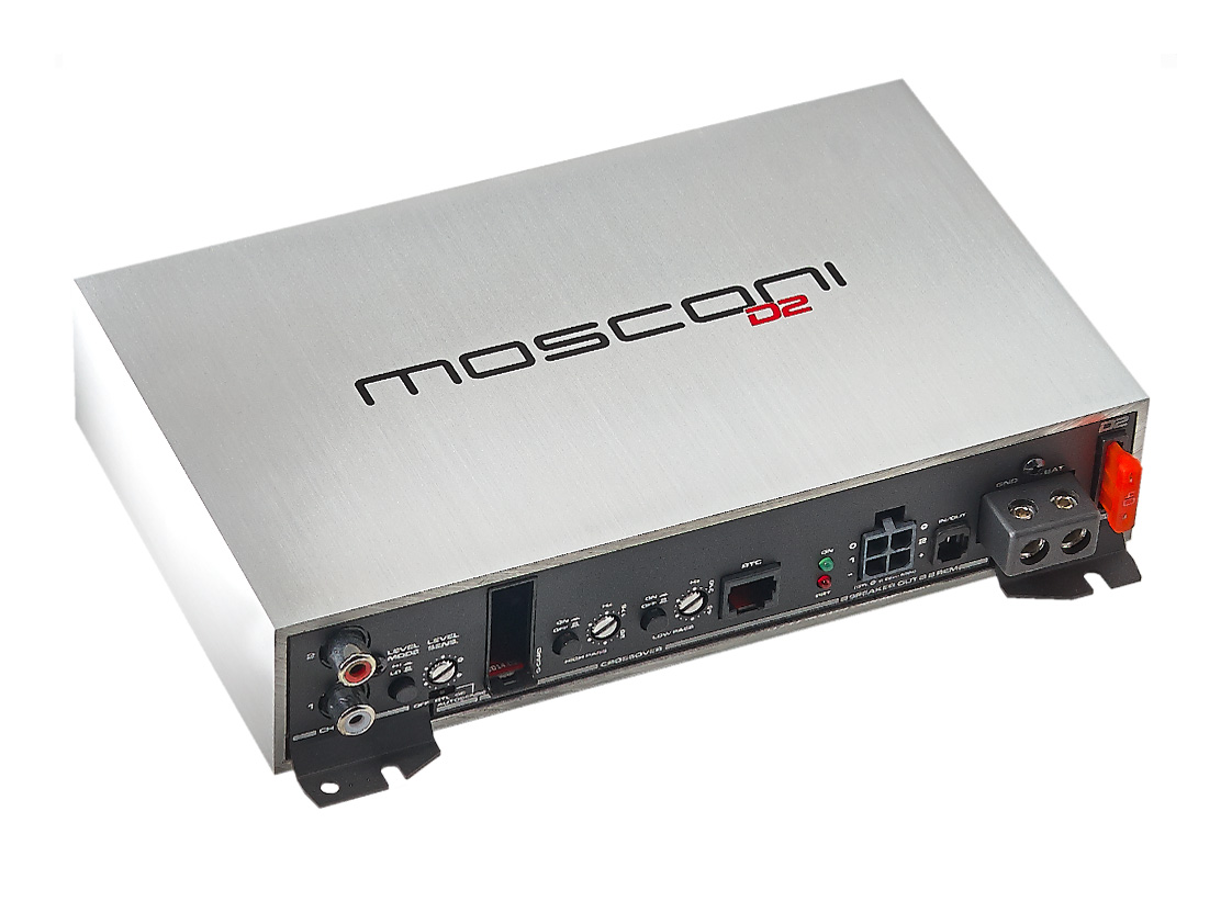 Gladen D2 150.2 2-Channel Amplifier
