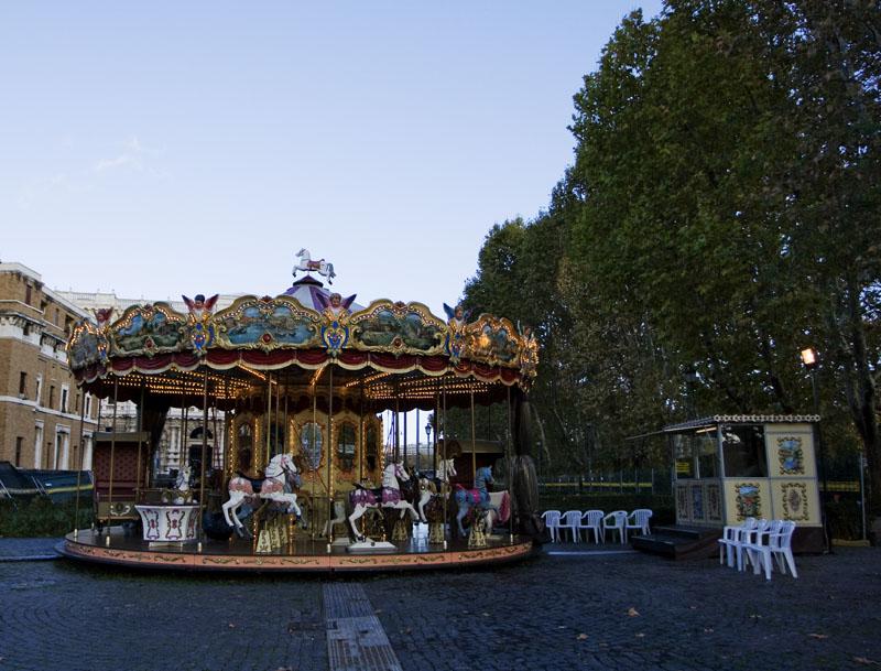 Rome merry-go-round 110309