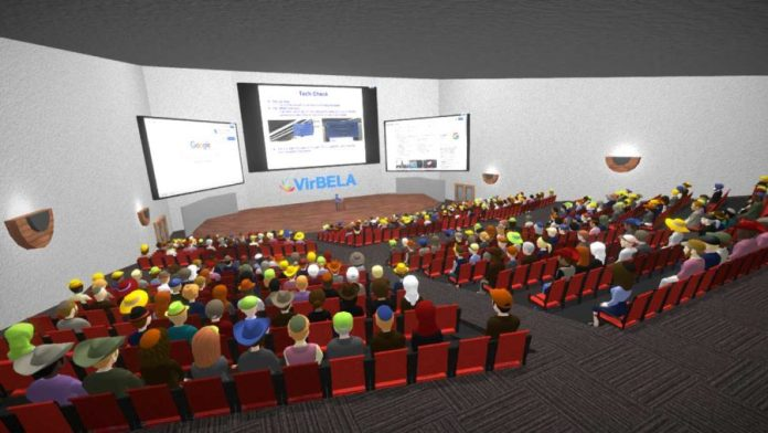 eXp VR lecture hall