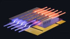 microfluidic chip cooling