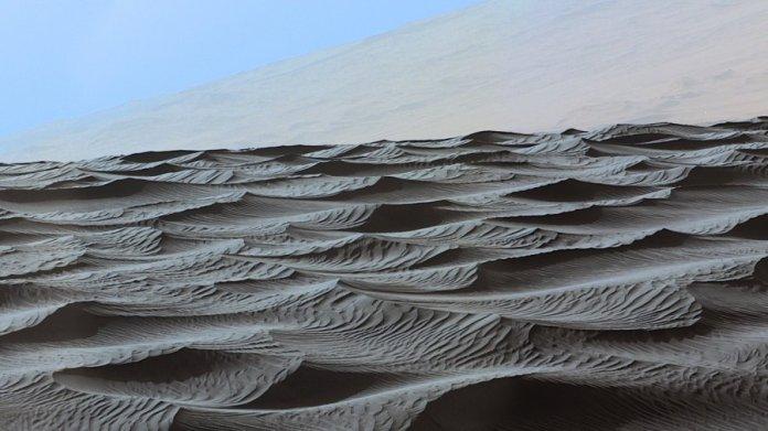 tech stories mars sand dunes nasa