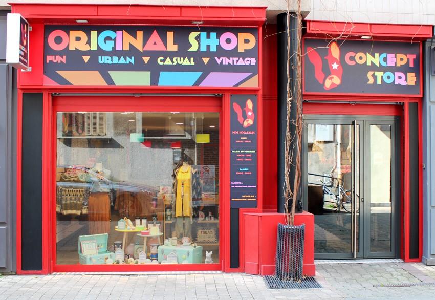 The original shop