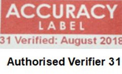 certificate of verification