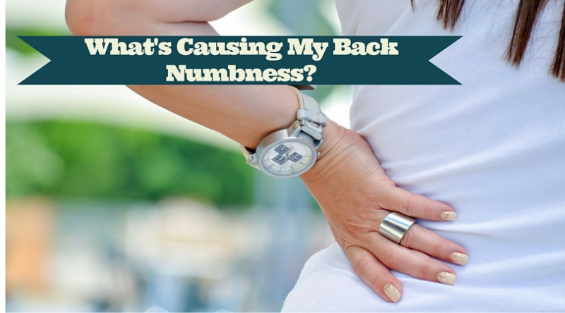 causes of back numbness