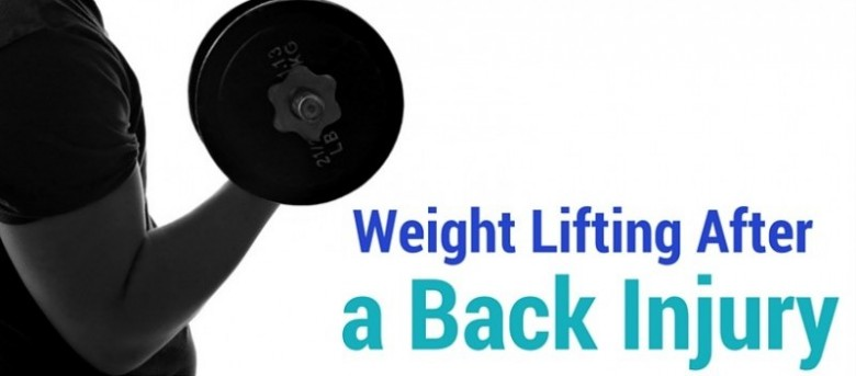 weight lifting after back injury