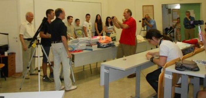 Σάρωσαν τις διακρίσεις στο διαγωνισμό Αστρονομίας οι μαθητές της Ναυπάκτου (ΔΕΙΤΕ ΦΩΤΟ)