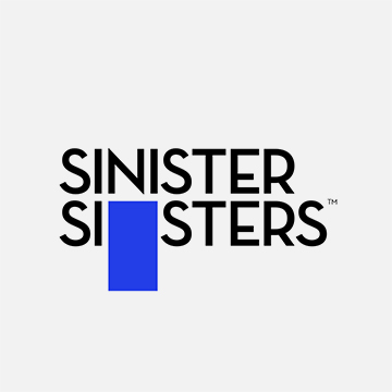 SINISTER SISTERS LOGO AND WEBSITE