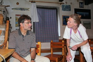 Matevž Lenarčič, Brigitte Brand
