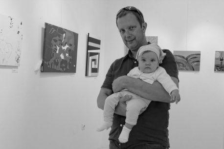 small works exhibition at Lična hiša