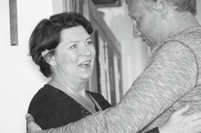 Helga Kristjánsdóttir, Serhiy Savchenko