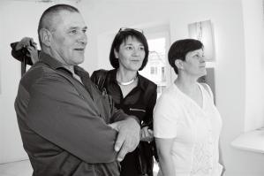 small works exhibition at Lična hiša in Ajdovščina