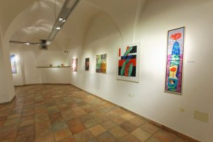 Nikolaj Pirnat exhibition hall at Castle Gewerkenegg in Idrija