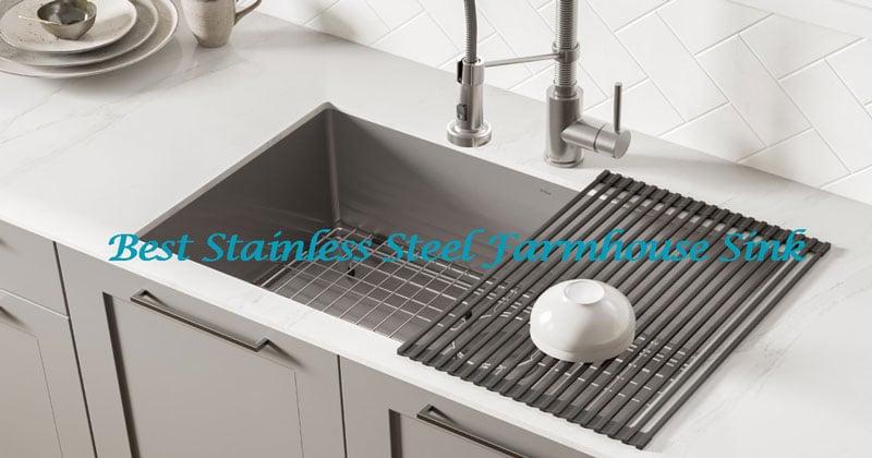 best stainless steel farmhouse sinks
