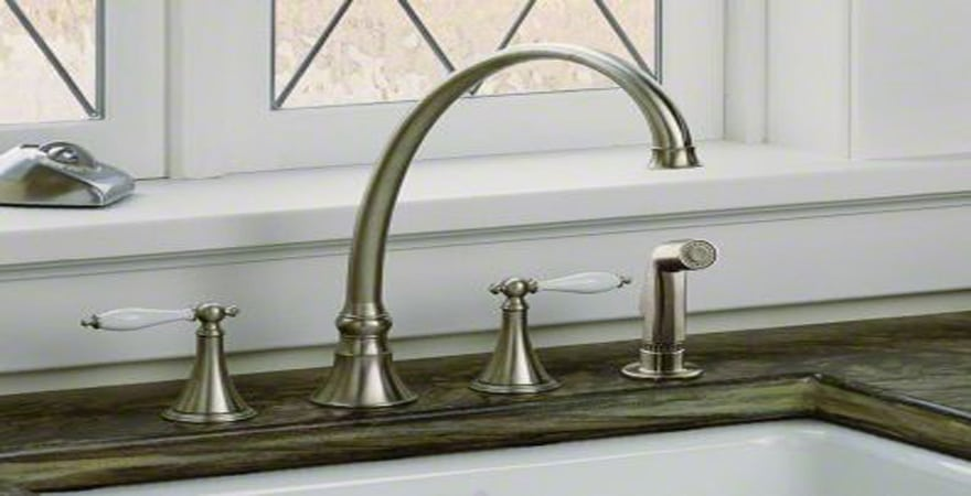 best 4 hole kitchen faucets in 2021