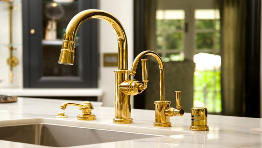 best brass kitchen faucet reviews in 2021