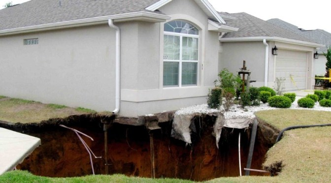What Does the Average Sinkhole Repair Cost?