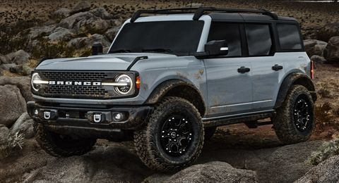 La nueva Ford Bronco