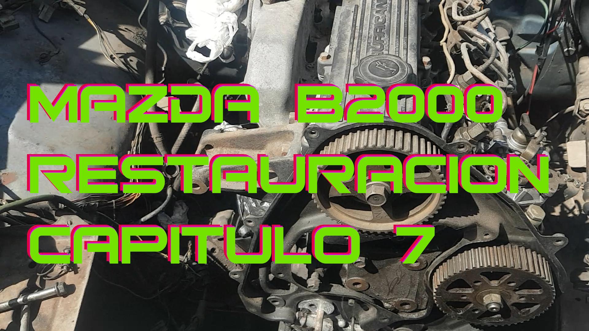 Restauración Mazda Capitulo 7
