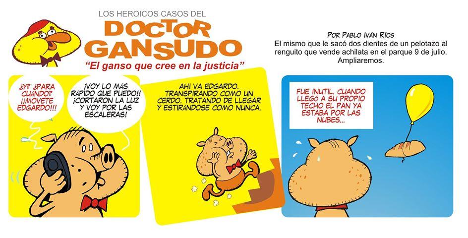 HUMOR GRÁFICO X PABLO IVÁN RÍOS