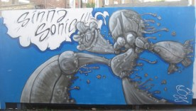 Painted at One Foot in the GROVE: Mutate Britain 2.