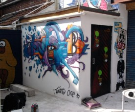 Painted at UPFEST - Urban Paint Festival 2010.