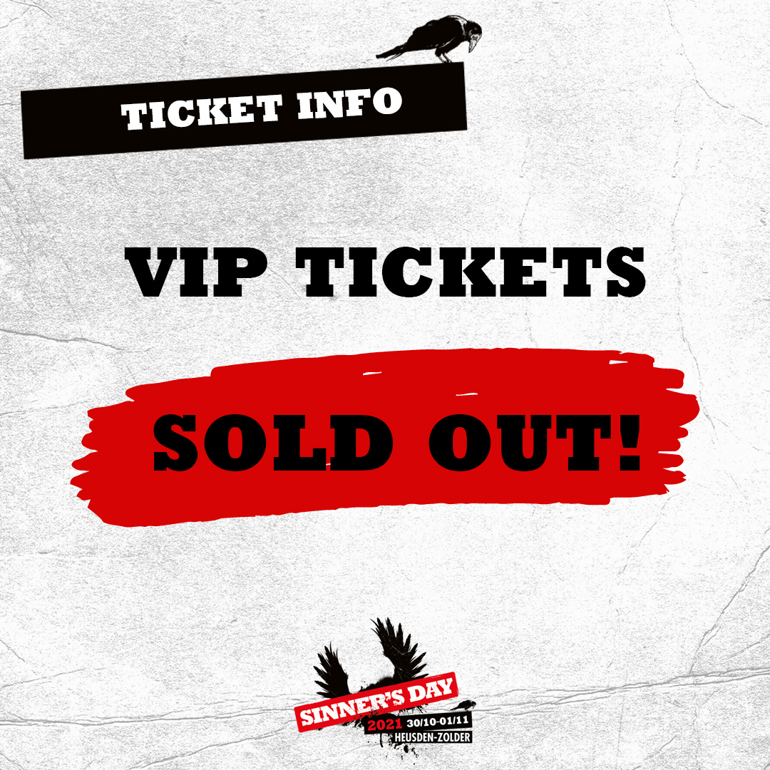 VIP TICKETS SOLD OUT!