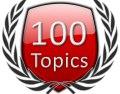 Start 100 Forum Topics Icon